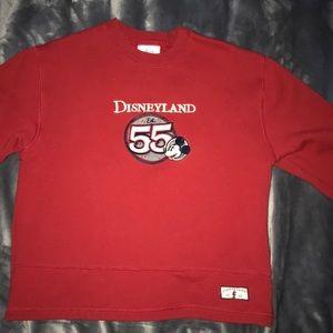 Red Disney Land Sweatshirt